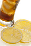 Iced tea closeup Stock Images