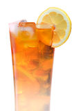 Iced tea glass Royalty Free Stock Image