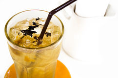 Iced tea in a glass Royalty Free Stock Photography