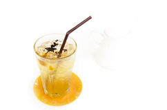 Iced tea with isolate background Stock Photography