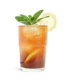 Iced tea, isolated Stock Image