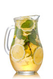 Iced tea in a jug Stock Images
