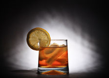 Iced tea and lemon Stock Images