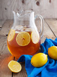 Iced tea with lemon Stock Image