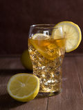 Iced tea with lemon Royalty Free Stock Photography