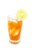 Iced Tea with Lemon Slice Royalty Free Stock Photo