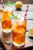 Iced tea with lemon Royalty Free Stock Image