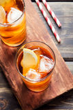 Iced tea Royalty Free Stock Photography