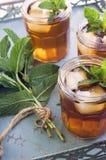 Iced Tea with Mint Stock Photos