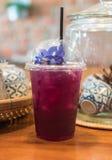 iced tea pea royalty free stock photography