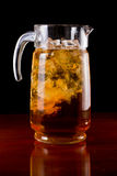 Iced tea pitcher Royalty Free Stock Image