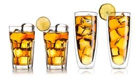 Iced tea set Royalty Free Stock Image