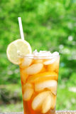 Iced tea in the summer Stock Image