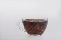 Iced tea  on white Stock Photo