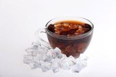 Iced tea  on white Stock Image