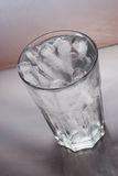 Iced water. A glass of iced water Royalty Free Stock Photo