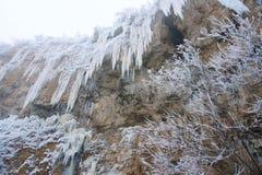 Icefall Zdjęcia Stock