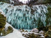 Icefall Στοκ Εικόνες