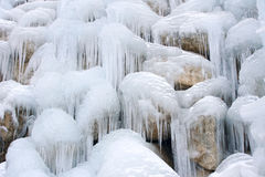 Icefall Royalty Free Stock Image