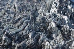 Icefall da geleira Himalaia Foto de Stock