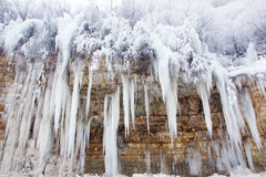 Icefall Royalty Free Stock Photo