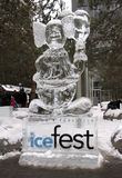 Icefest Toronto 2011 Royalty-vrije Stock Foto