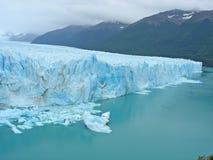 icefield莫尔诺perito 免版税库存照片