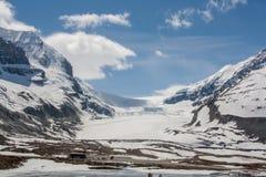 Icefield de Colombia, Canadá fotos de archivo