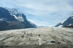 Icefield de Colombie Image stock
