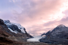 Icefield and glaciers Royalty Free Stock Image