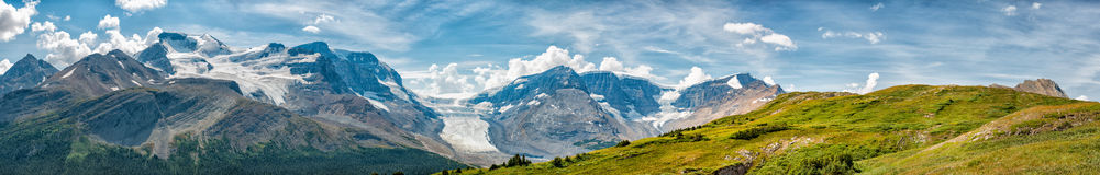 Icefield Park Glacier view panorama Stock Images