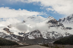 Icefield Parkway, Alberta, Canada Royalty Free Stock Photography