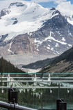 Icefield Parkway and the Canadian Skywalk Stock Photo