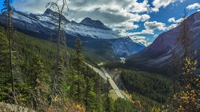Icefield Parkway stock video footage