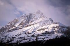 Icefields大路在亚伯大,加拿大 免版税库存照片