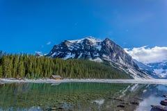 Icefields jezioro Fotografia Royalty Free