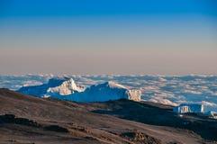Icefields nordico Kilimanjaro Immagini Stock Libere da Diritti