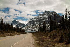 Icefields Parkway, Alberta, Canada. Stock Photography