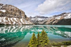 The Icefields Parkway, Alberta, Canada. Royalty Free Stock Photography