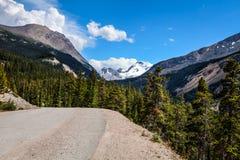 Icefields Parkway- Banff National Park- Alberta- CA Stock Photo