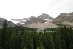 Icefields Parkway, Canada Royalty Free Stock Photos
