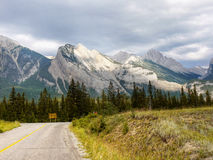 Icefields Parkway, Canada Travel Route Royalty Free Stock Photo