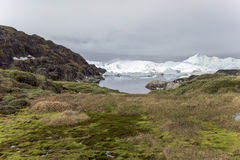 Icefjord Ilulissat, Greenland Stock Photography