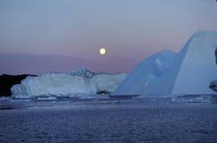 Icefjord Ilulissat Groenlandia norteña Imagen de archivo