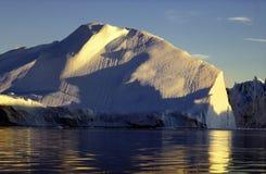 Icefjord Ilulissat Nordgrönland Stockfotos