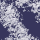 Iceflowers on glass seamless texture Royalty Free Stock Photo