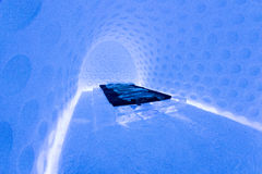 Icehotel in jukkasjarviç. Sweden Royalty Free Stock Photography
