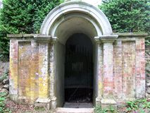 Icehouse archway royalty free stock photography