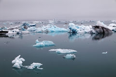Icelake Jokulsarlon Iceland Stock Photos