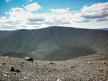 Icelan, Hverfjall crater Royalty Free Stock Photography